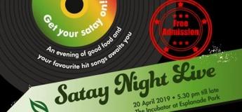 Satay Night Live 2019