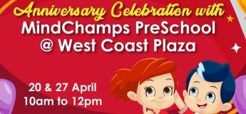 Anniversary Celebration with MindChamps Preschool @ West Coast Plaza