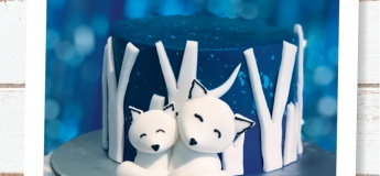 [Kids June Holiday] Arctic Fox Cake + Clay Charm