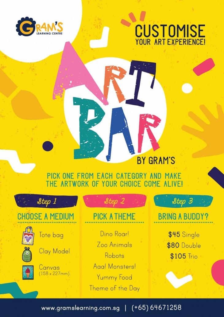 Art Bar June Holiday Workshop