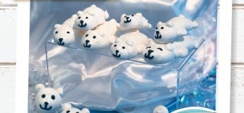 [Kids June Holiday] Polar Bear Meringue + Snow Globes
