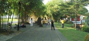 Yoga by the Lake at Jurong Lake Gardens