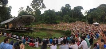 Nicklas Sahl Concert: Asian premiere at Singapore Botanic Gardens