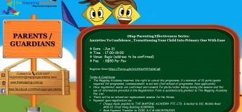 iMap Parenting Effectiveness Series: Anxieties To Confidence – Transitioning Your Child To Primary One With Ease