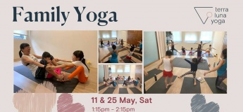 Family Yoga 11 & 25 May
