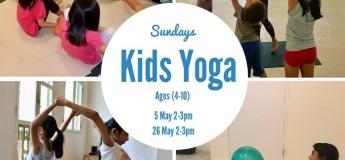 May Kids Yoga Classes