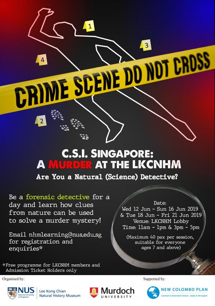 CSI Singapore: A Murder at the LKCNHM