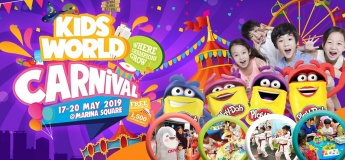 Kids World Carnival at Marina Square