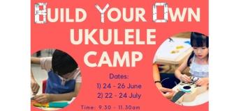 Build Your Own Ukulele Camp