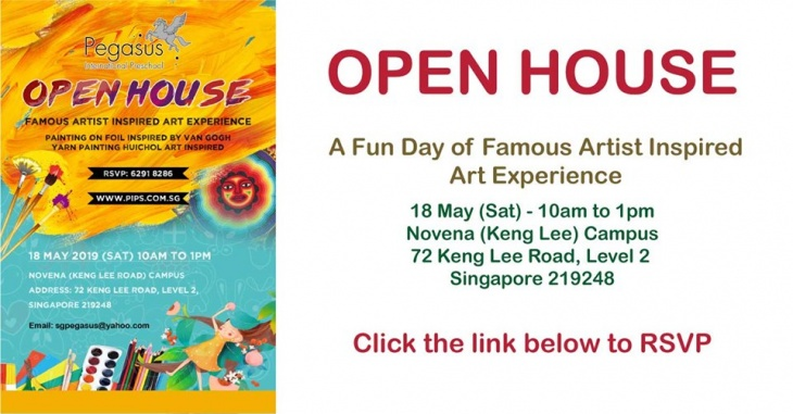 Open House - Famous Artist Inspired Art Experience