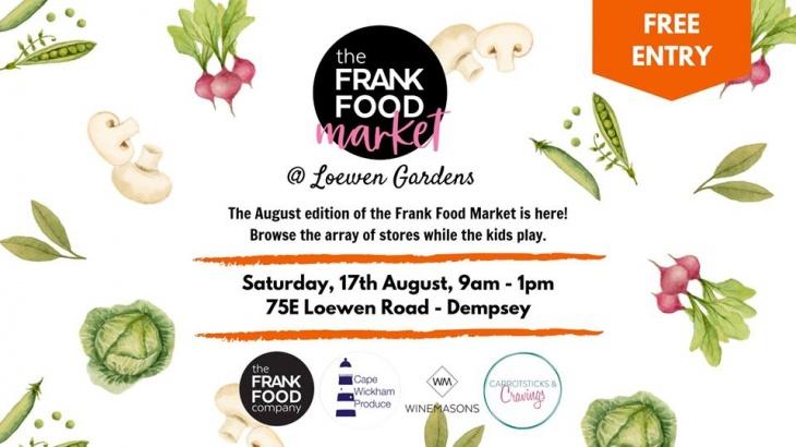 Frank Food August Market