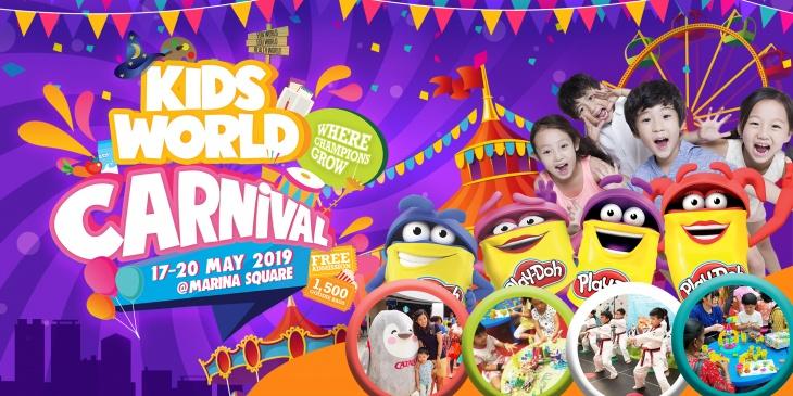 Kids World Carnival 17 - 20 May 2019