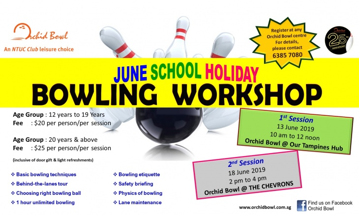 June School Holiday Bowling Workshops