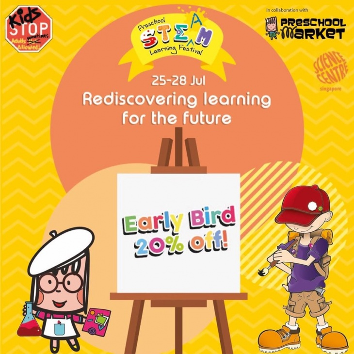 Preschool STEAM Learning Festival @ KidsSTOP, by Science Centre Singapore