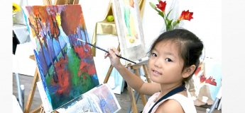 June Holiday Art Camps – Multi-media Drawing and Painting Kids Art Exploration Camp