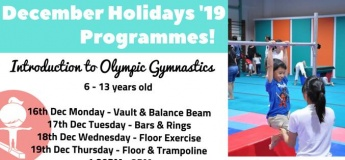 December Holiday Programmes 2019 @ Tumble Joy Gymnastics