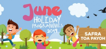 June Holiday Programme at SAFRA Toa Payoh!