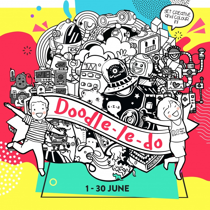 Doodle-Le-Do @ United Square Shopping Mall