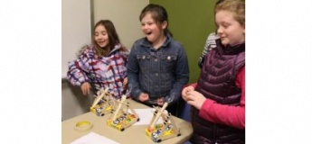 Waste Reduction, Reuse and Recycle Workshop with Catapult Building Activity