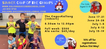 SUMMER Camp of the Champs 2019
