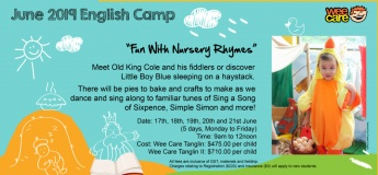 June 2019 English Camp