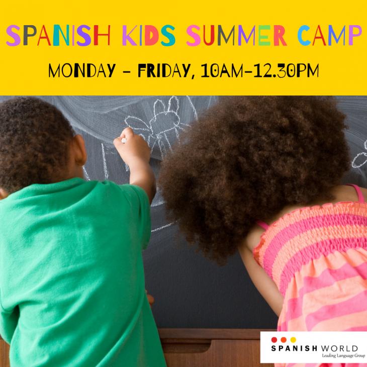 Kids Spanish Summer Camp 2019