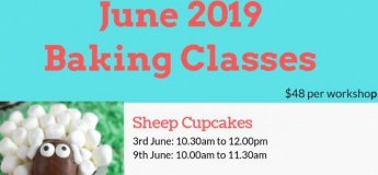 June 2019 Baking Classes