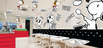 Snoopy X Kumoya Pop-Up Cafe