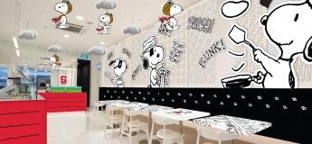 Snoopy X Kumoya Pop-Up Cafe