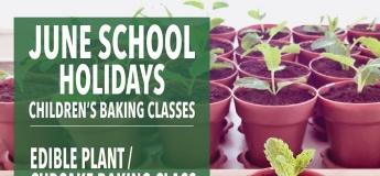 June School Holidays: Children's Baking Classes