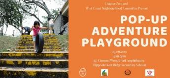Pop-Up Adventure Playground at Clementi Woods Park