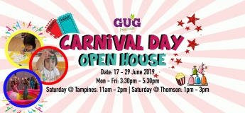 GUG Preschool Carnival Day Open House@Tampines
