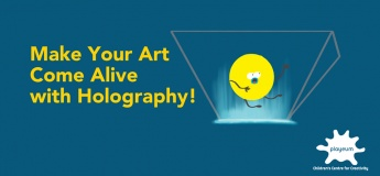 Drop-in Holiday Activity:  Make Your Art Come Alive  with Holography!