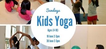 June Kids Yoga Classes