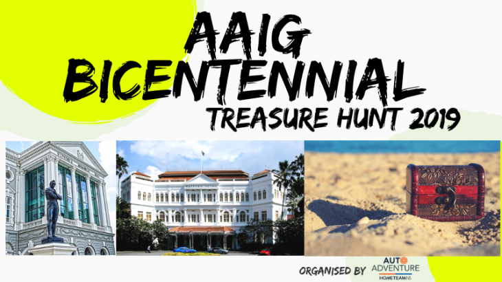 AAIG Bicentennial Treasure Hunt 2019 | Tickikids Singapore