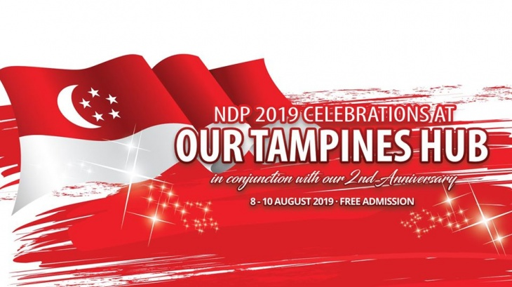 NDP 2019 Celebrations at Our Tampines Hub | Tickikids