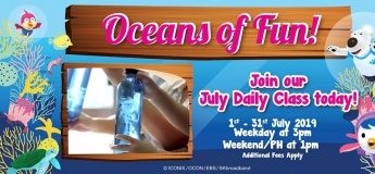 Oceans of Fun Daily Class