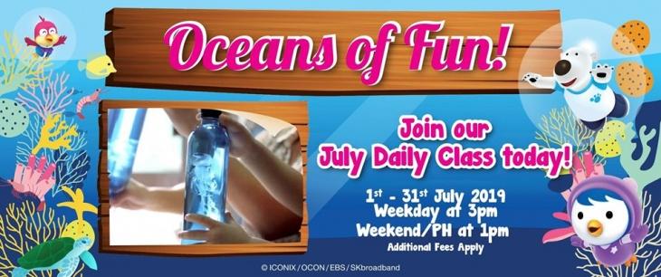 Oceans of Fun Daily Class