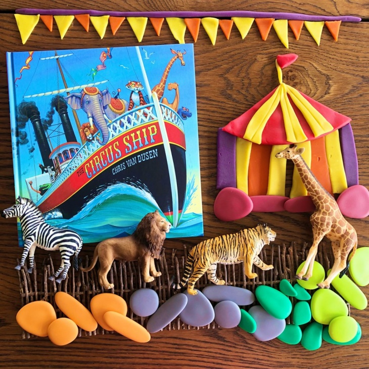 """July Storytime at The Elly Store - """"The Circus Ship"""" by Chris Van Dusen"""
