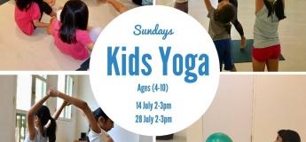 July Kids Yoga Classes