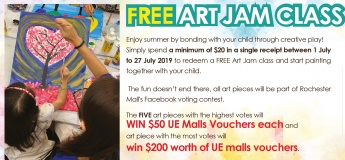 Free Art Jam Class and Win $200