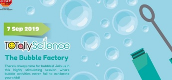 TOTally Science, The Bubble Factory (2 to 3 years old)