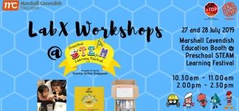 [MCE Promo] LabX Kit & Workshop @ Preschool STEAM Learning Festival