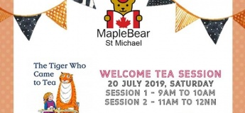 Welcome Tea at MapleBear St Michael