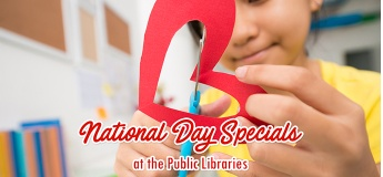 National Day Specials at the Public Libraries