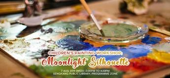 Children's Painting Workshop: Moonlight Silhouette