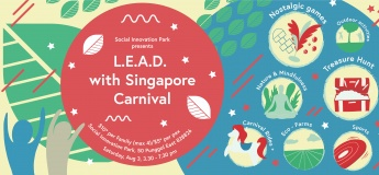 L.E.A.D. with Singapore (National Day Celebration)