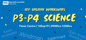 Science Year-End Revision Workshop 2019 (P3&4)