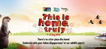 Celebrate SG54 at Wildlife Reserves Singapore