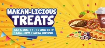Makan-Licious Treats@SAFRA Jurong